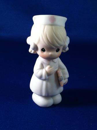 jan nurse precious moment figurine