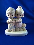 Blessed Be The Tie That Binds - Precious Moment Figurine