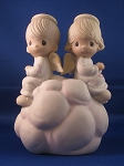 My Guardian Angels - Precious Moment Figurine (Nightlight)