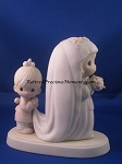 God Bless The Bride - Precious Moment Figurine