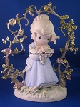 In God's Beautiful Garden Of Love - Precious Moment Figurine