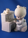 Lord, Keep My Life In Tune (Girl)  - Precious Moment Figurine