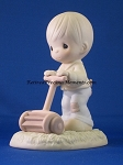 Mow Power To Ya - Precious Moment Figurine