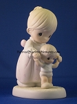 One Step At A Time - Precious Moment Figurine