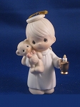 Lighting The Way To A Happy Holiday - Precious Moment Ornament