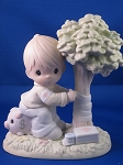 Money's Not The Only Green Thing Worth Saving - Precious Moment Figurine
