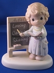 Teach Us To Love One Another - Precious Moment Figurine