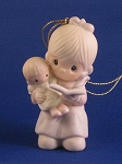 Tell Me The Story Of Jesus - Precious Moment Ornament