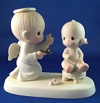 Baby's First Haircut - Precious Moment Figurine