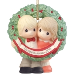 Our First Christmas Together 2016 - Precious Moment Ornament