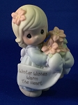 Winter Wishes Warm The Heart - Precious Moment Figurine