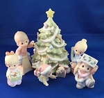 Wishing You An Old Fashioned Christmas - Precious Moment Figurines