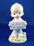 I Will Love You All Ways - Precious Moment Figurine