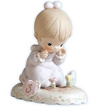 Growing in Grace Age 3 - Precious Moment Figurine