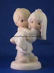 Bless You Two - Precious Moment Figurine