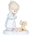 Growing in Grace Age 12 - Precious Moment Figurine