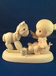 What A Difference You've Made In My Life  - Precious Moment Figurine