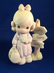 Loving, Caring, Sharing Along The Way - Precious Moment Figurine