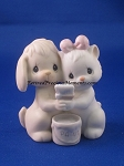 True Blue Friends - Precious Moment Figurine