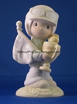 Trust In The Lord To The Finish - Precious Moment Figurine