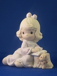 You Fill The Pages Of My Life - Precious Moment Figurine