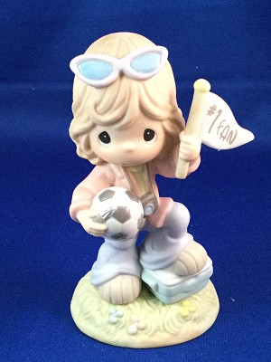 Always On The Ball - Precious Moment Figurine