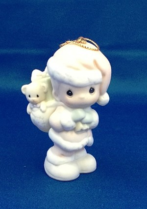 Bringing You A Merry Christmas - Precious Moment Ornament