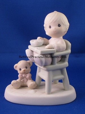 Baby's First Meal - Precious Moment Figurine