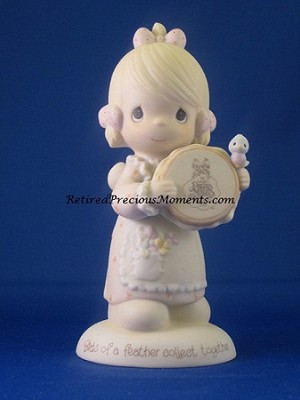Birds Of A Feather Collect Together - Precious Moment Figurine