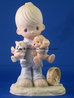 Blessed Are The Peacemakers - Precious Moment Figurine