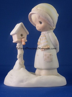 Blessings From My House To Yours - Precious Moment Figurine