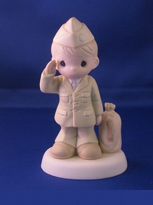 Bless Those Who Serve Their Country - Army - Precious Moment Figurine