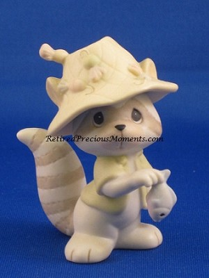Fishing For Friends - Precious Moment Figurine