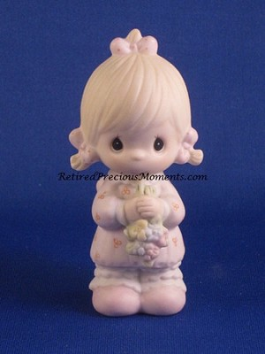 Flower Girl - Precious Moment Figurine