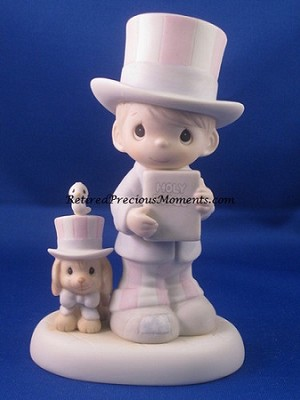 God Bless America - Precious Moment Figurine