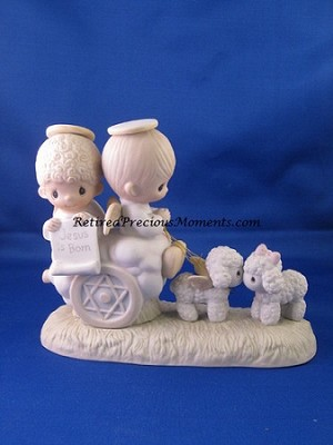 Jesus Is Born - Precious Moment Figurine