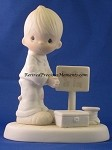 Lord, Give Me Patience - Precious Moment Figurine