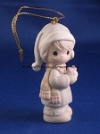 May All Your Christmases Be White - Precious Moment Ornament