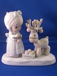 Merry Christmas Deer - Precious Moment Figurine
