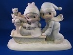 Sharing Our Season Together - Precious Moment Figurine