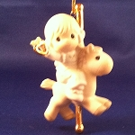 Love Makes The World Go Round - Precious Moment Ornament