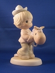 Hope You're Up And On The Trail Again - Precious Moment Figurine