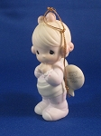 Baby's First Christmas 1993 (Girl) - Precious Moment Ornament