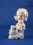 Baby's First Christmas 2006 (Boy) - Precious Moment Ornament