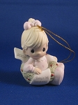 Baby's First Christmas 2007 (Girl) - Precious Moment Ornament