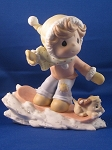 There's Sno-Boredom With You - Precious Moment Figurine
