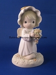 A Bouquet From God's Garden of Love - Precious Moment Figurine