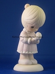 Always In His Care - Precious Moment Figurine