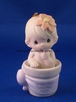 Baby's First Christmas 1997 (Girl) - Precious Moments Ornament