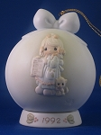 But The Greatest Of These Is Love - 1992 Precious Moment Ball Ornament